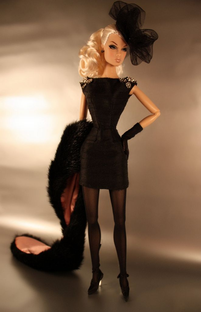 We hope to see dolls of The Dolls one day - this one is just like Chloe St. Pierre! #TheDolls #dollsstyle