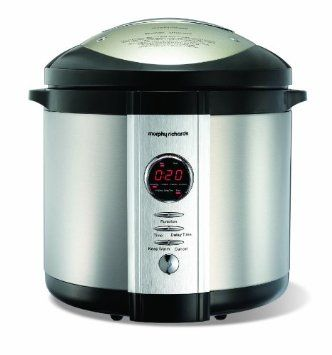 Morphy Richards Rapid Cook 48815 Digital Electric Pressure Cooker: Amazon.co.uk: Kitchen & Home