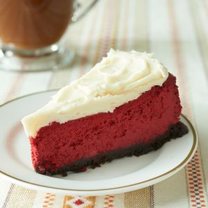 <p>Red Velvet Cheesecake</p>