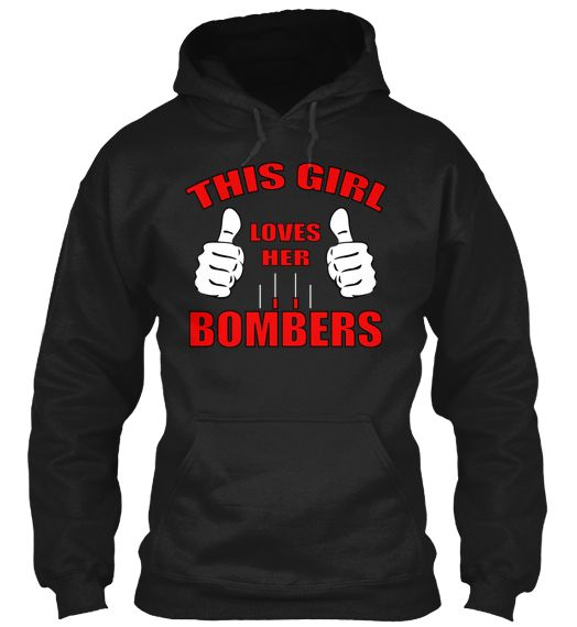 One of a Kind hoodie for Bombers Girls Yahoo!