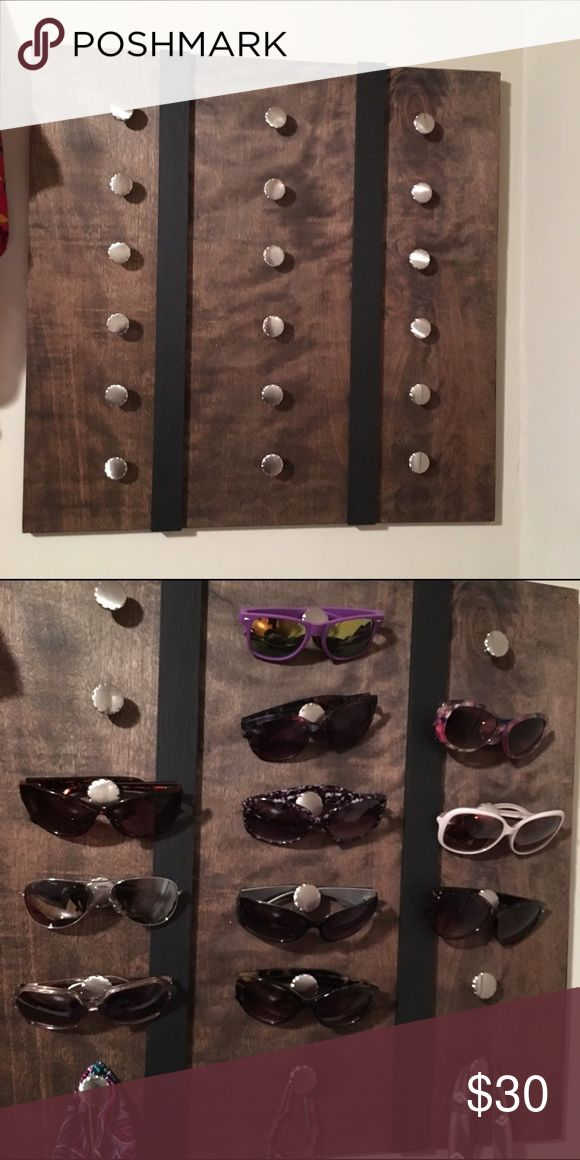 Custom Sunglass Holder Wooden Sunglass holder Accessories Sunglasses