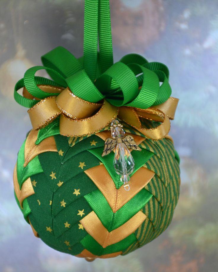Handmade Felt Christmas Tree Ornaments