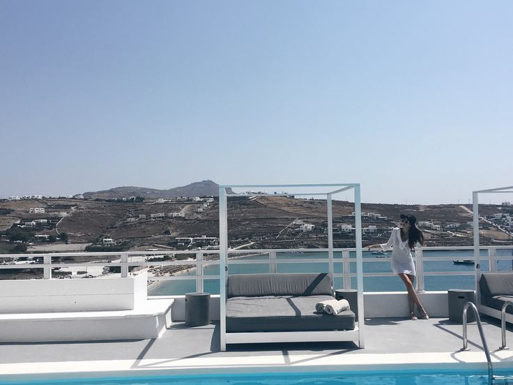 Summer in Mykonos 🌴