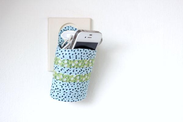 telefoon houder maken van een douchegel fles diy