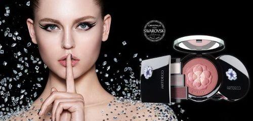 Рождественская коллекция макияжа Artdeco 2016-2017, Artdeco Crystal Garden Makeup Collection Christmas Holiday 2016-2017