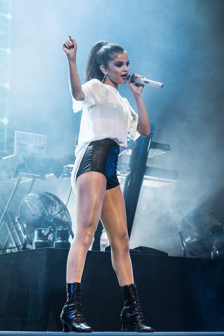 Selena Gomez on her Stars Dance World Tour.