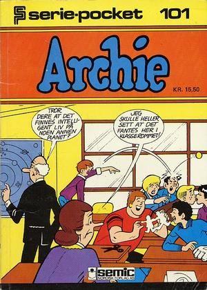 """""""Serie-pocket 101 Archie - Rektors nye image"""""""