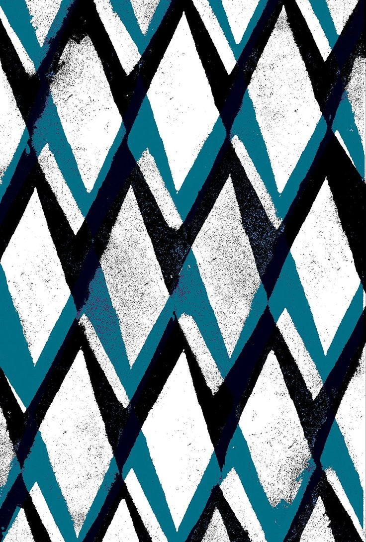 Black and Blue Diamonds - Sarah Bagshaw