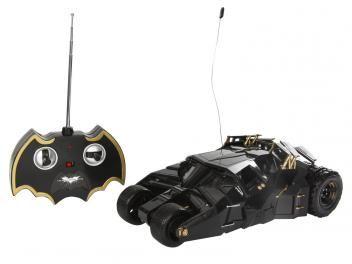 Carrinho de Controle Remoto Batman Batmóvel - The Dark Knight Rises 7 Funções - Candide