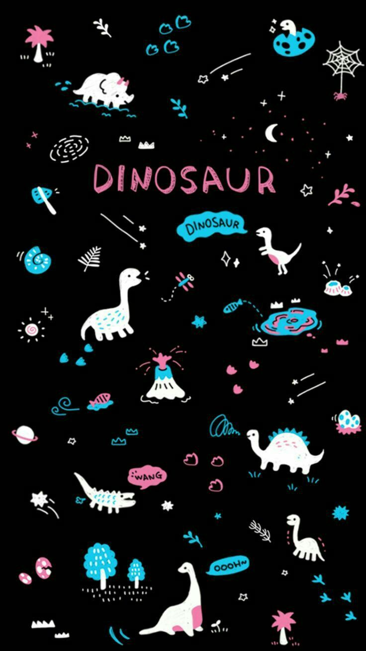 Piorapata Dinosaurpics Piorapata Galaxy Wallpaper Dinosaur Wallpaper Wallpaper Iphone Cute