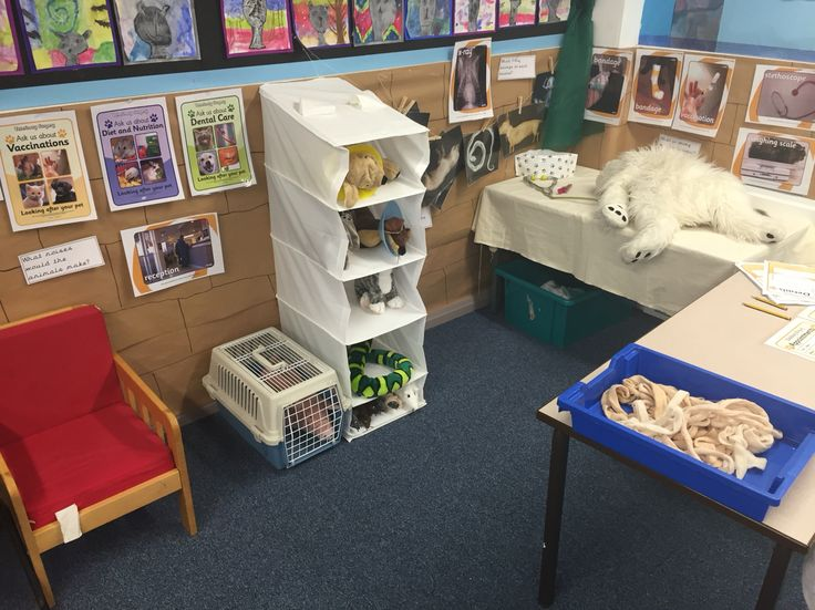 Vet role play area