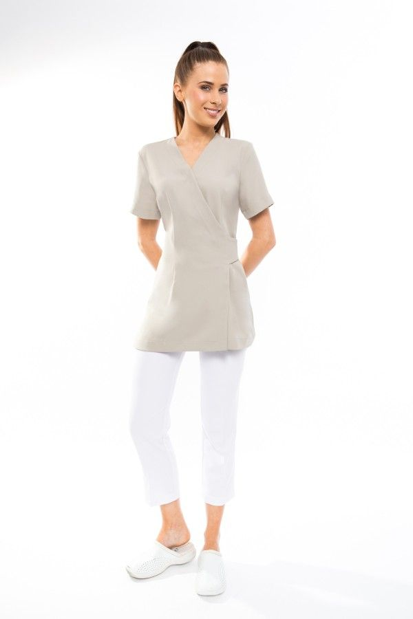 SPA1012 TAUPE SALE TUNIC 70% OFF DISCONTINUED COLOUR LIMITED SIZES AND STOCK LEFT final sale item- no refund no exchange. Check sizing chart before ordering
