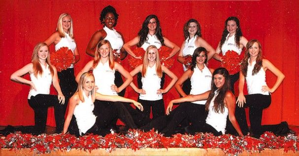 The 2010-11 Maryville High School dance team are all smiles. The team captain is Mekenzie Russell and co-captain is Brittany Rohrer. They ar...