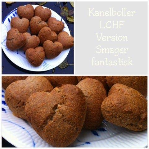 Charlottes Madblog: Kanelboller - LCHF version
