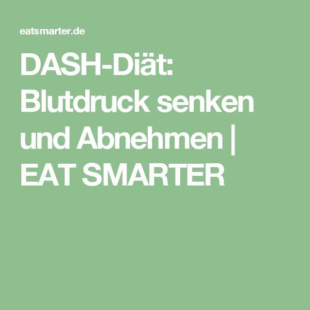 DASH-Diät: Blutdruck senken und Abnehmen | EAT SMARTER