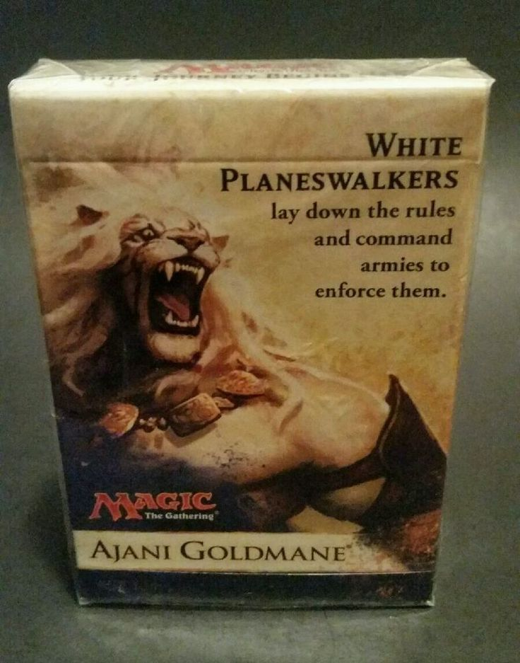 25 beautiful magic the gathering 2014 ideas on pinterest magic magic the gathering ajani goldmane 30 card deck mtg 2014 new sealed box in toys hobbies collectible card games magic the gathering mtg sealed decks ccuart Gallery
