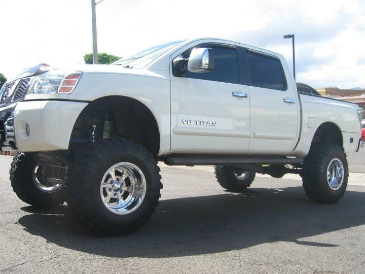 "2004-2007 Nissan Titan 4wd LIFT SPRINGS - 6""/8"" lift nissan titan"