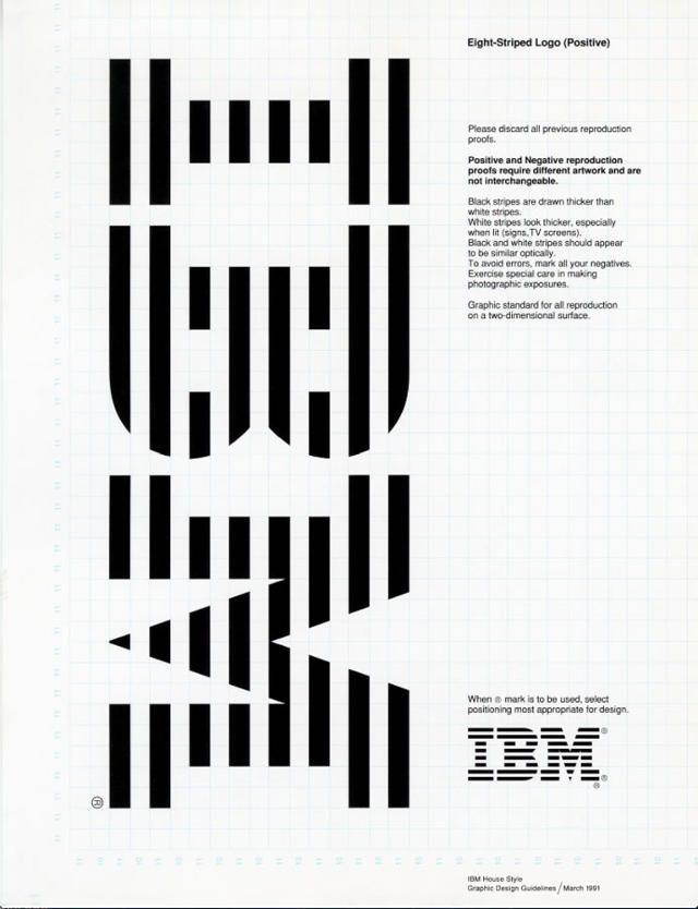 Paul Rand design IBM