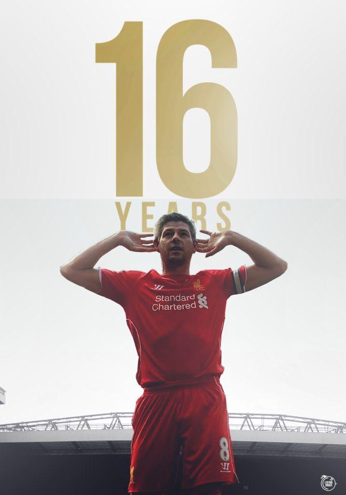 29 November 1998 -16 years of Steven Gerrard. <3