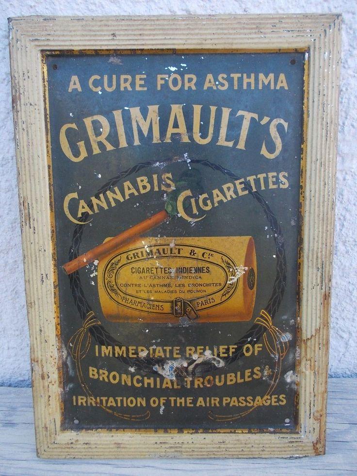 Original Vintage 1910 1920 Marijuana Cannabis Cigarettes ...