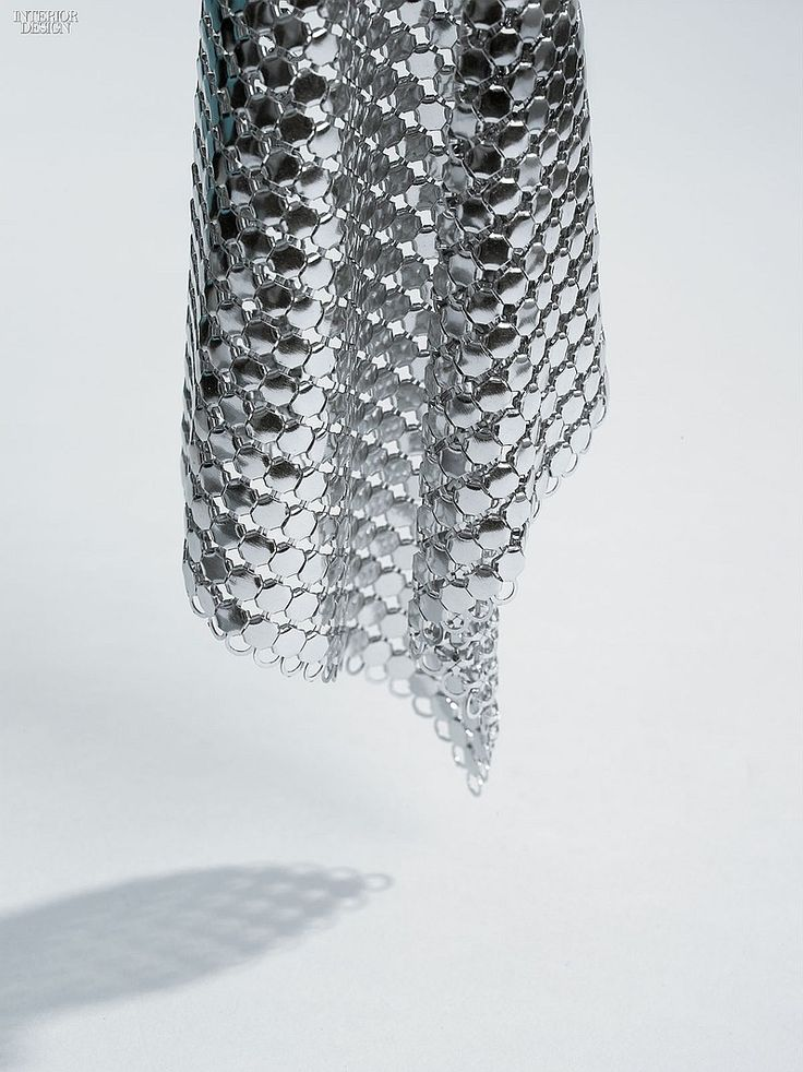 MCX Matter: 5 Inventive Mesh Materials | Companies | Interior Design. Material: Scale Mesh. Manufacturer: Promesh. Composition: Aluminum.