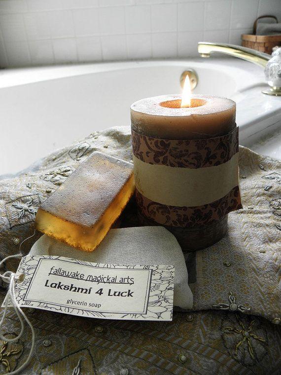Lakshmi 4 geluk glycerine zeep voor welvaart geluk & door fallawake