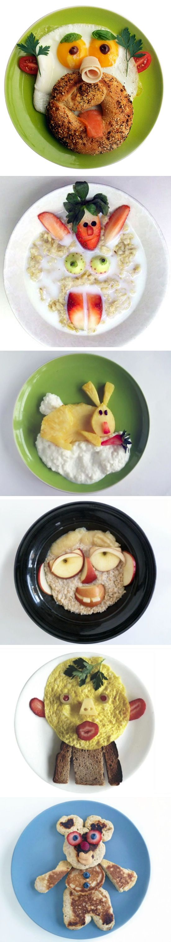 Lots of creative breakfast ideas!