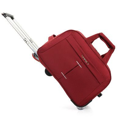 """20""""24 inch Trolley Travel Bag Hand Luggage Rolling Duffle Bags Waterproof Oxford Suitcase Wheels Carry On Luggage"""