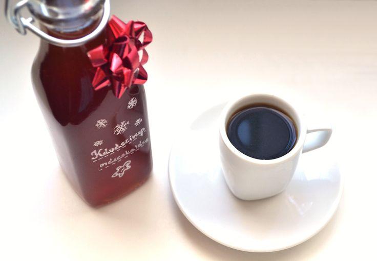 Mézeskalácsos kávészirup recept