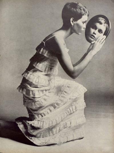 Richard Avedon// Mia Farrow//Vogue1966