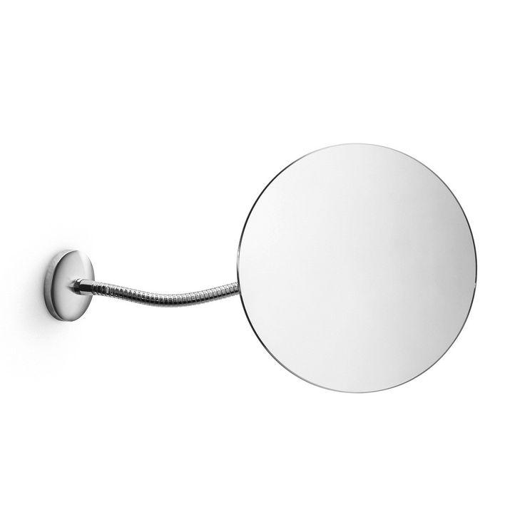 beautiful highend modern stylish designer wall mounted bathroom magnifying mirror with flexible arm