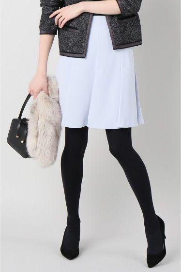 ペプラムタックスカート  ペプラムタックスカート 12960 2016AW LaTOTALITE タックディテールで仕立てたぺプラムスカート 動くたびにゆれる女性らしいシルエット トップスはコンパクトなものであわせたり今シーズンは袖にボリュームがあるシルエットも 手洗い可能でご自宅でのイージーケアができるのも嬉しいポイントですね 取り扱いについては商品についている品質表示でご確認ください モデルサイズ:身長:167cm バスト:77cm ウェスト:56cm ヒップ:80cm 着用サイズ:36