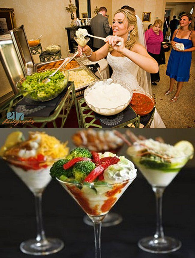 Mashed Potato Bar. (1) From: Wedding Rumors (2) Webpage has a convenient Pin It Button