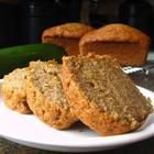 Zucchini bread.  add chocolate chips.Thoughts, Brown Rice, Muffins, Zucchini Breads Recipe, Chocolates Chips, Food, Cinnamon Almond, Art, Minis