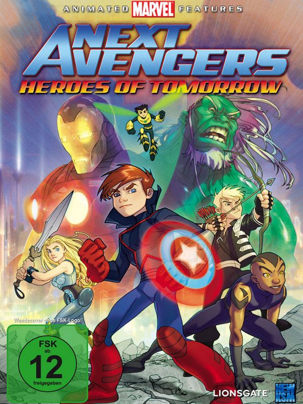 Next Avengers Heroes Of Tomorrow Langue French Genre