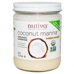 Органическая кокосовая манна Nutiva купить в Москве, цена и отзывы, польза и вред