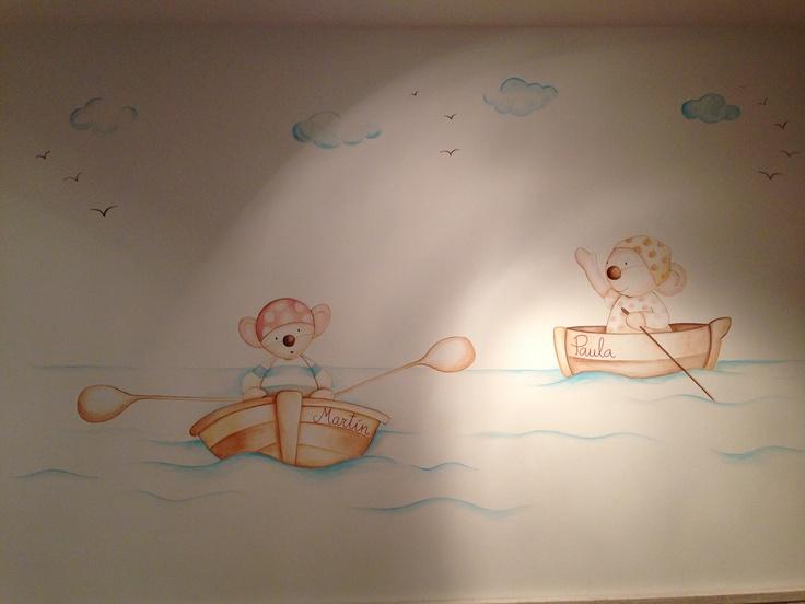 Murales pintados en paredes