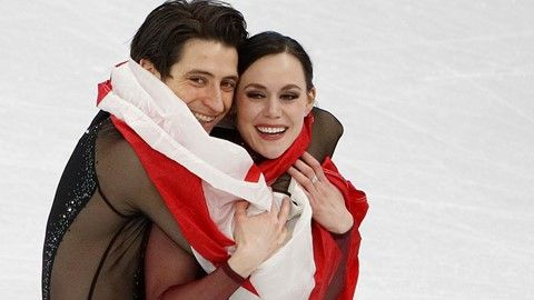 Virtue, Moir complete legacy with historic gold-medal skate