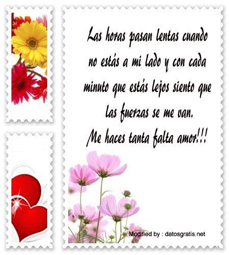 textos de amor gratis para enviar,mensajes de amor para compartir en facebook: http://www.datosgratis.net/mensajes-para-decir-te-extrano-amor/