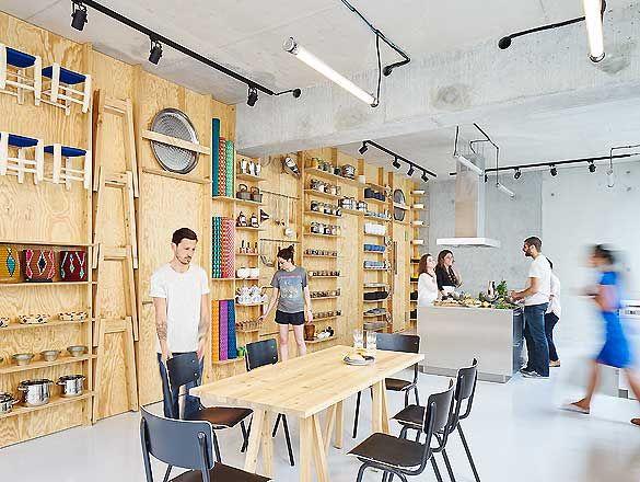 Kochschule architektur  Kochschule Kialotok in Paris von Septembre Architecture | Interior ...