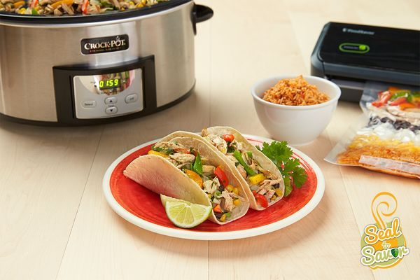 Enter our Seal to Savor Sweepstakes for a chance to win your own FoodSaver® Vacuum Sealer and Crock-Pot® Slow Cooker!   #FoodSaver #VacuumSeal #CrockPot #SlowCooker #SealToSavor #FreezerMeal #Sweepstakes [Promotional Pin]