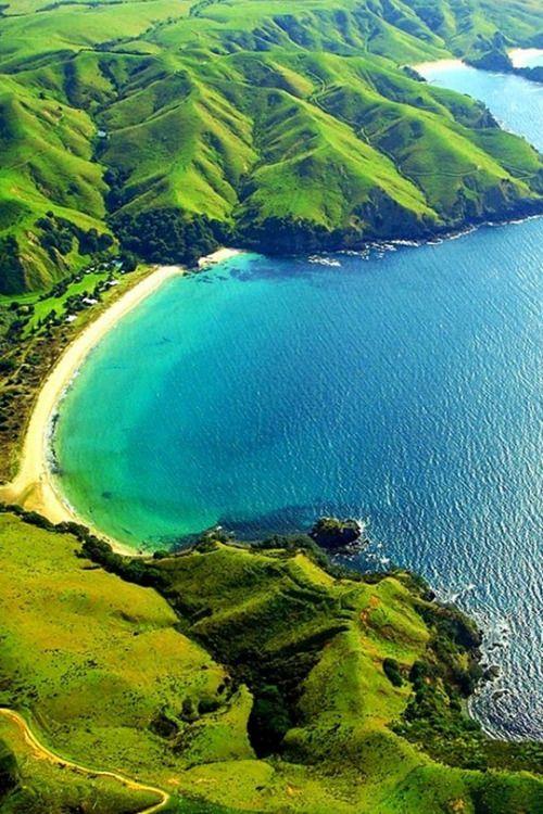 Taupo Bay, New Zealand                                                       …
