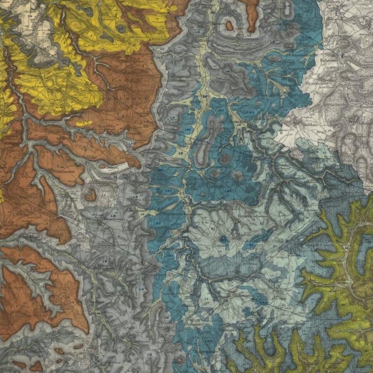 Carte géologique du département de la Haute-Marne exécutée sous les auspices du Conseil Général, 1859-1865
