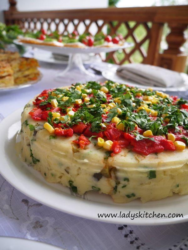 Kırmızı Köz Biberli Patates Salatası…