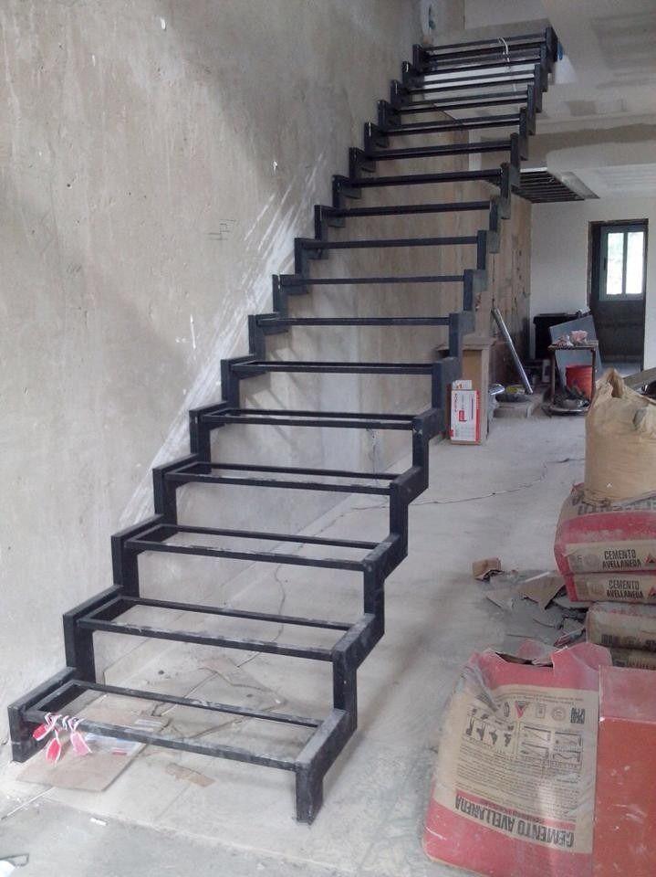 Herreria de obra bnk acero inoxidable escaleras rejas - Escaleras de acero ...