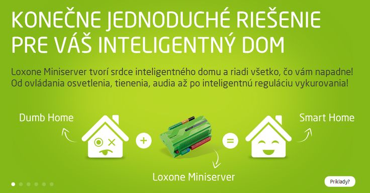 Od minulého týždňa oficiálne už aj v slovenčine! Loxone.SK! It's been one week since we've online in Slovak! Loxone.SK!