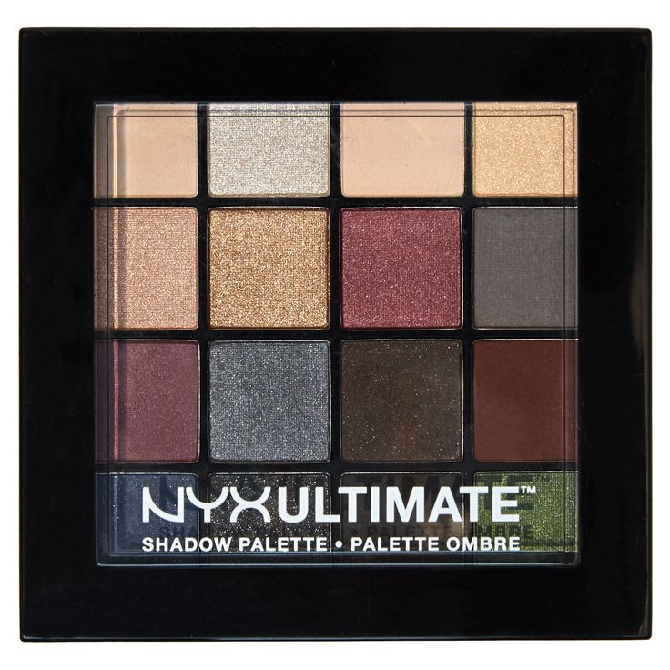 NYX Cosmetics Ultimate Shadow Palette in Smokey & Highlight                                                                                                                                                                                 More