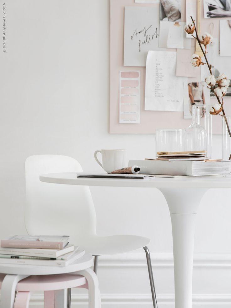 DOCKSTA tafel   Deze pin repinnen wij om jullie te inspireren. #IKEArepint #IKEA #IKEAnl #zithoek #salontafel #wit