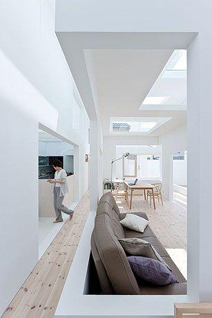 Modern minimalist lifestyle.