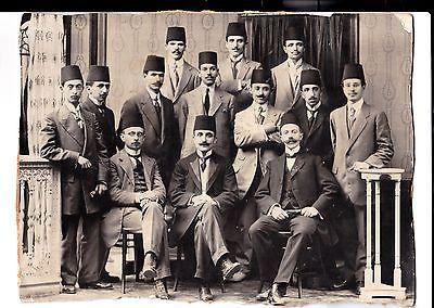 Ottoman The Committee of Union and Progress İttihat Terakki Enver Pasha 27X20 RR